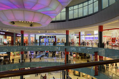 Centro commerciale UAE del Dubai Fotografie Stock Libere da Diritti