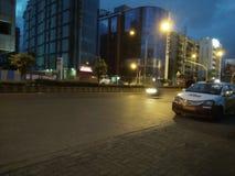 Centro commerciale vicino ad ovest di infinito del malad della città di Mumbai Fotografia Stock