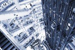 Centro commerciale voluminoso Immagine Stock Libera da Diritti
