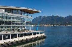 Centro congressi di Vancouver Immagini Stock