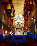 Centro conmemorativo de JFK para las artes interpretativas Fotografía de archivo