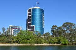 Centro corporativo Gold Coast complejo Australia de Bundall Imágenes de archivo libres de regalías
