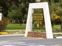 Centro correttivo di Drakenstein una prigione di basso sicurezza fra PA Immagine Stock Libera da Diritti