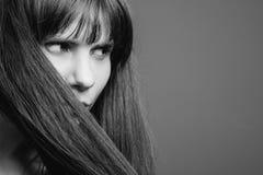 Centro cosmetico di benessere dei prodotti di cura di capelli fotografia stock