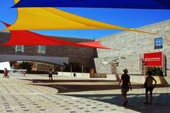 Centro cultural de Belem, entrada principal Fotos de archivo libres de regalías