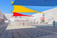 Centro Cultural de Belem Lisbon Fotografía de archivo libre de regalías