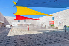 Centro Cultural de Belem Lisbon Fotografia de Stock Royalty Free
