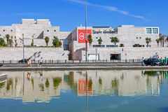 Centro Cultural de Belem Lisbon. Lisbon, Portugal. August 24, 2014: Centro Cultural de Belem (belem cultural center). Major museum and cultural center showing Stock Image