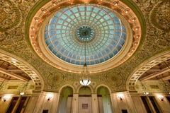 Centro cultural de Chicago Imagen de archivo libre de regalías