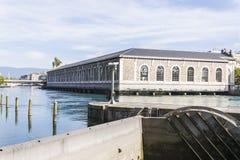Centro cultural de Ginebra Fotografía de archivo libre de regalías