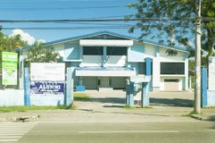 Centro cultural e de esportes de Santo Tomas Municipality, Santo To Fotos de Stock Royalty Free