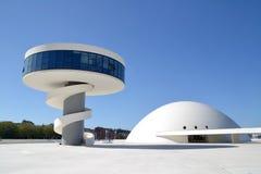 Centro cultural en Avilés Foto de archivo libre de regalías