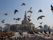 Centro cultural islámico Fanar en Doha, Qatar, Oriente Medio Fotos de archivo libres de regalías