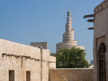 Centro cultural islámico Fanar en Doha, Qatar, Oriente Medio Fotografía de archivo