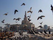 Centro cultural islâmico Fanar em Doha, Catar, Médio Oriente Fotos de Stock Royalty Free