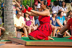 Centro cultural polinesio Fotos de archivo libres de regalías