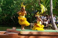 Centro cultural polinesio Foto de archivo libre de regalías