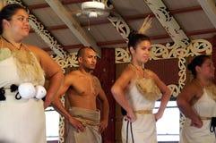 Centro cultural polinesio Imagen de archivo libre de regalías
