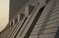 Centro culturale al tramonto Immagine Stock