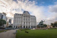 Centro culturale Centro Cultural Kirchner CCK - Buenos Aires, Argentina di Kirchner fotografia stock
