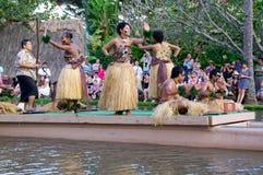 Centro culturale polinesiano fotografie stock libere da diritti