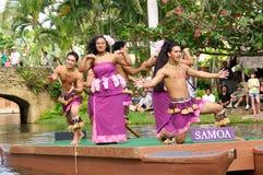 Centro culturale polinesiano Fotografia Stock Libera da Diritti