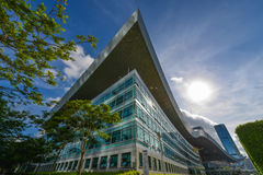 Centro cívico de Shenzhen Imagens de Stock