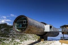 Centro d'informazione delle montagne di Karwendel Immagini Stock Libere da Diritti