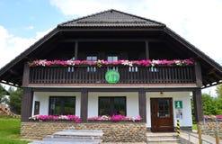 Centro d'informazione per i turisti Fotografia Stock
