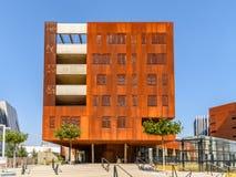 Centro d'istruzione dell'università di Vienna di economia e di affare Fotografie Stock