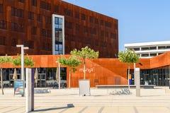 Centro d'istruzione dell'università di Vienna di economia e di affare Fotografie Stock Libere da Diritti