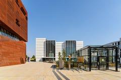 Centro d'istruzione dell'università di Vienna di economia e di affare Fotografia Stock