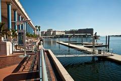 Centro da baixa de Tampa e de convenção imagem de stock