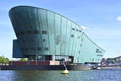 Centro da ciência de NEMO de Amsterdão Foto de Stock Royalty Free