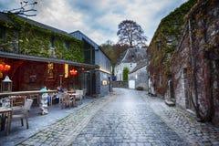 Centro da cidade belga Durbuy