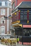 Centro da cidade de Aix-la-Chapelle, Alemanha Foto de Stock Royalty Free