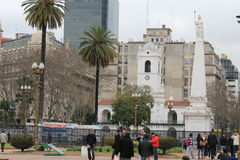 Centro da cidade de Buenos Aires, Argentina Fotografia de Stock Royalty Free