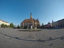 Centro da cidade de Cluj Imagens de Stock