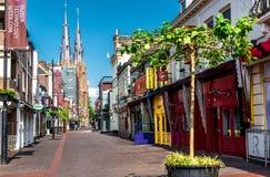 Centro da cidade de Eindhoven Fotografia de Stock