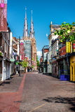 Centro da cidade de Eindhoven Imagem de Stock Royalty Free