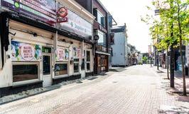 Centro da cidade de Eindhoven Foto de Stock Royalty Free