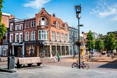 Centro da cidade de Eindhoven Foto de Stock