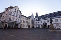 Centro da cidade de Koblenz Lugar e monumento Imagens de Stock Royalty Free