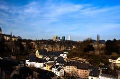 Centro da cidade de Luxemburgo Foto de Stock