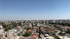 Centro da cidade de Nicosia video estoque