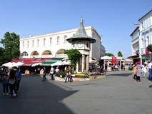 Centro da cidade na ilha de Buyukada Fotos de Stock