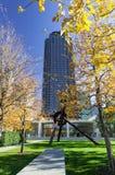 Centro da escultura de Nasher Fotografia de Stock Royalty Free