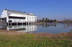 Centro da expo do mundo de Suzhou, brandnew imagem de stock