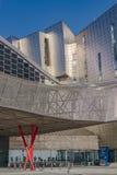 Centro da exposição, do congresso e das feiras de comércio em Malaga, Espanha Fotografia de Stock