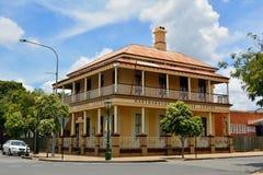 Centro da herança de Aryborough em Maryborough, QLD fotografia de stock royalty free